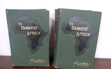 STANLEY H. M. In Darkest Africa or The Quest, Res...