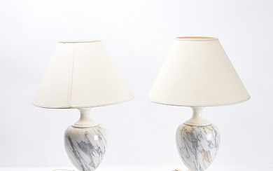 Table lamps 1 pair Bordslampor 1 par