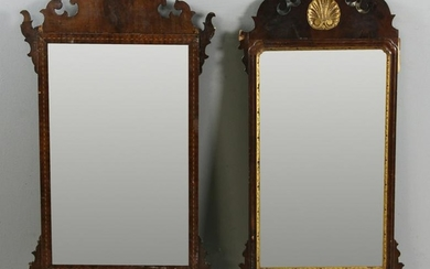 Two 18th/Early 19thC Style Chippendale Mirrors