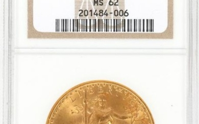 U.S. $20.DOLLAR CERTIFIED GOLD COIN, 1924