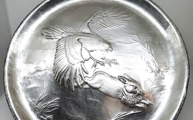 Wall Plate - .800 silver - Italy - First half 20th century