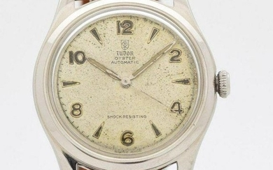 1950's Men's Vintage TUDOR By ROLEX Oyster Stainless