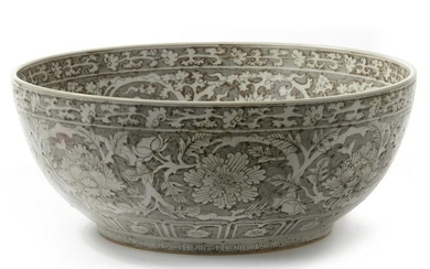 A LARGE CHINESE BOWL, CHINA