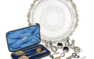 A group of items including: a cased...