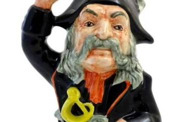 A large character figure depicting the Pirate King from