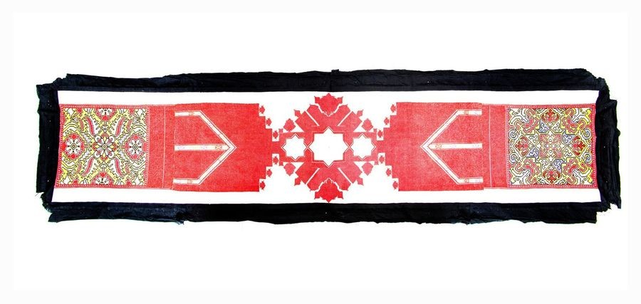 """CHAOUEN ARID Wall hanging """"Arid"""" by Chaouen,… Résultats Traditional Moroccan arts Lot n° 174"""