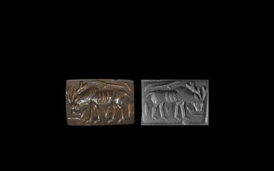 Bactrian Stamp Seal with Stag