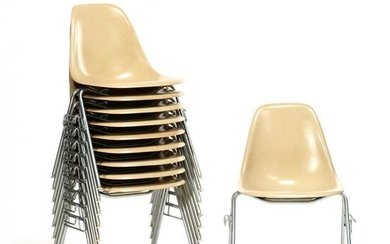 Charles and Ray Eames, Set of Ten DSS Chairs