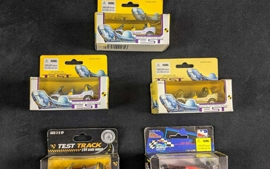 Disney Epcot Die Cast Car Lot Of Five Test Track