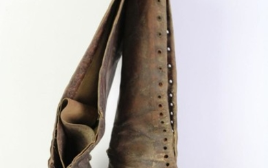 Early 20th Century Ladies Leather Boots