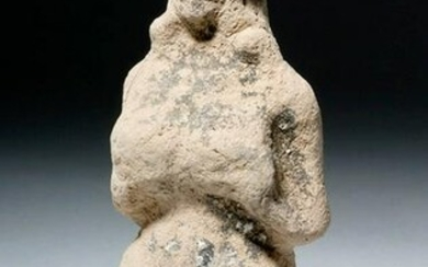 Early Babylonian Pottery Goddess w/ Huge Breasts