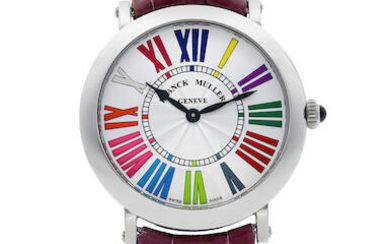 Franck Muller | Round - Color Dreams, A Stainless Steel Wristwatch, Circa 2019