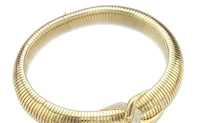 GOLD AND DIAMOND NECKLACE, CHATILA