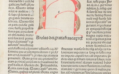 [Incunabula and early 16th cent. books]. Charles VII,...