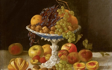 JOHN F. FRANCIS | STILL LIFE WITH WHITE COMPOTE