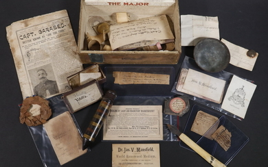 MISCELLANY ASSOCIATED WITH THE AMERICAN SPIRITUALIST JAMES V. MANSFIELD (1817-1899)
