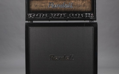 Randall RM100KH Half Stack 'Kirk Hammet ' Limited Edition (3)