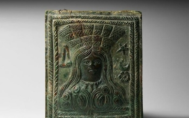 Roman Plaque with Goddess Cybele