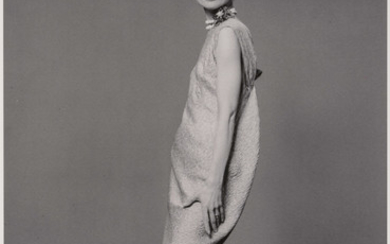 STERN, BERT (1929-2013) Two fashion images of Audrey Hepburn