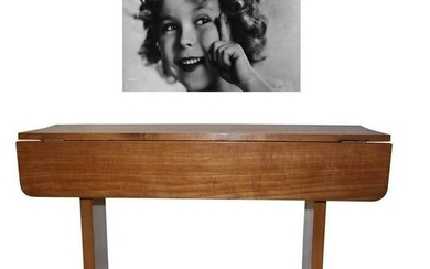 Shirley Temple's Art Deco Drop-Leaf Child Table