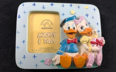 Vintage Donald Daisy Duck Magnet Mickey & Pals Applause
