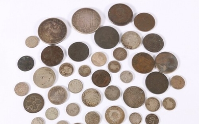 World group lot of coins including UNITED KINGDOM Victoria (...
