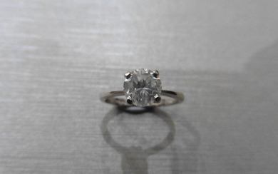 1.15ct diamond solitaire ring with a brilliant cut...