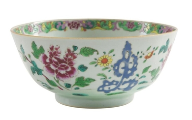 A CHINESE EXPORT FAMILLE ROSE BOWL YONGZHENG PERIOD (1722-1735) The De Voogd Collection