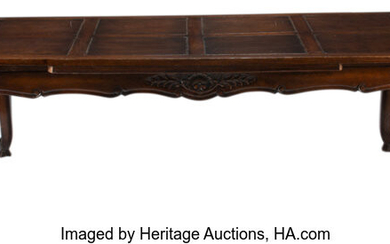 A French Provincial Draw-Leaf Dining Table (19th century)