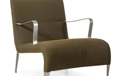 A Pair of Italian Upholstered Armchairs