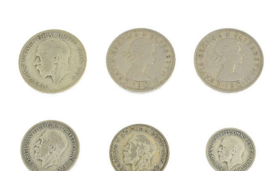A quantity of British and world coins, base metal and silver. (lot).