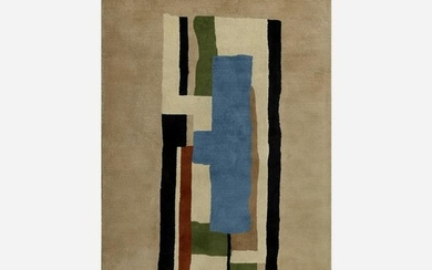 After Fernand Leger, Blanc tapestry