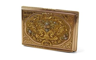 An Early 19th Century Swiss Gold Snuff Box