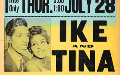 An Ike and Tina Turner The Limit Concert Poster