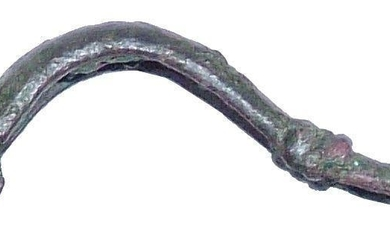 CELTIC GARMENT PIN FIBULA C.100 BC-300 AD
