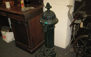 Cast Iron Victorian Style Tap Stand