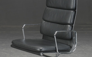 Charles Eames 1907-1978. Soft Pad lounge chair, Model EA-209