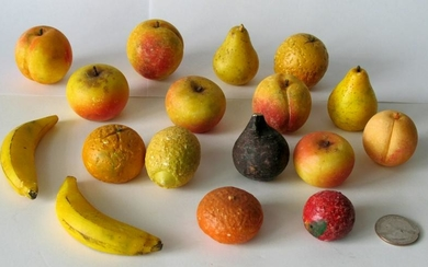 Collection of miniature stone fruit.