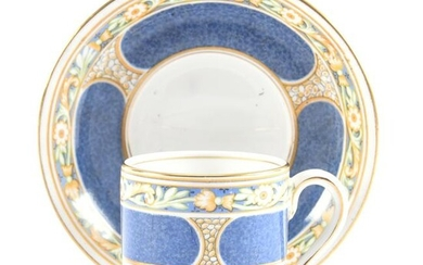 Cup & Saucer, Ye Olde English Governor China