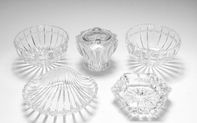 Cut Crystal & Glass Bowls / Dishes, 5