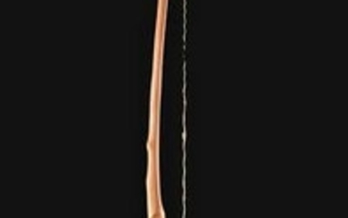 Early 20th C. Native American Plains Wood Bow w/ String