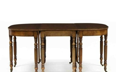 Federal Style Banquet Dining Table