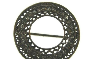 GORGEOUS Sterling Silver & Marcasite Brooch