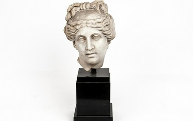 GRECO-ROMAN STYLE CARVED BUST