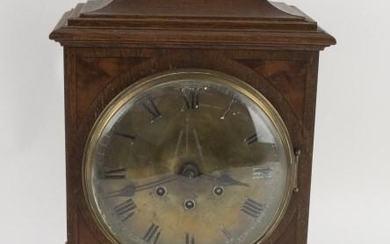 German Gustav Becker Chime Bracket Mantle Clock