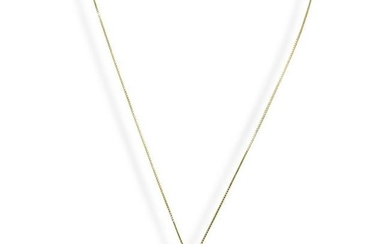Gold on Silver Pendant Necklace