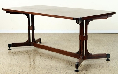 ITALIAN MID CENTURY MODERN ROSEWOOD WRITING TABLE