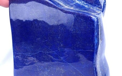 Large Natural Blue Lapis Lazuli Freeform - 270×105×60 mm - 4021 g