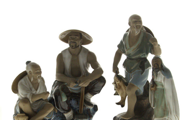 Lot of Four Chinese Ceramic Figures.