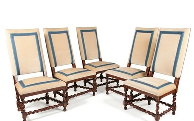 Louis XIII-Style Dining Chairs